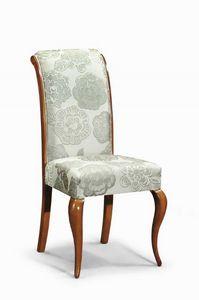Art. 506s, Chaise classique avec dossier rembourré et courbée