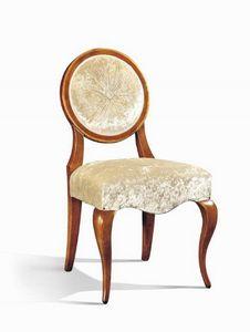 Art. 510s, Chaise classique avec dossier ovale, pour restaurants