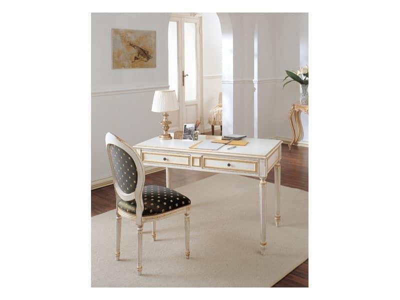 Art. 514, Chaise classique de luxe, de style Louis XVI, pour la chambre livinng