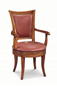 Art. 529g, Chaise classique avec rembourrage avec clous