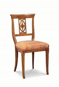 Art. 542s, Chaise à dossier sculpté, pour restaurants et pizzerias