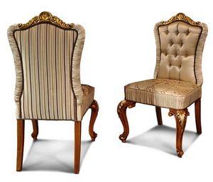 Art. 633, Chaise élégante avec pieds sculptés