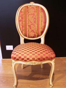 Art. 830, Luxe chaise classique pour la maison, de style Louis XV