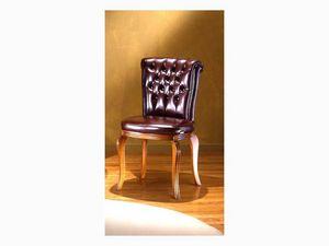 Bonn Capitonnè, Chaise avec dossier touffeté, pour les salles à manger