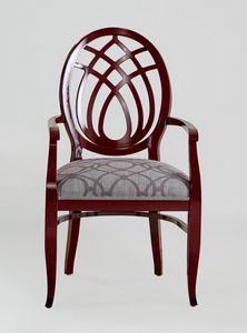BS368A - Chaise, Chaise à dos de harpe