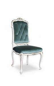 Chaise 1427, Chaise de luxe rembourrée de style classique