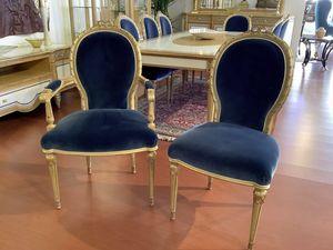 Chaise 1445 de style Louis XVI, Chaise de style classique