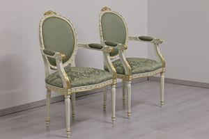 Dama tissu, Chaise classique rembourrée en laine