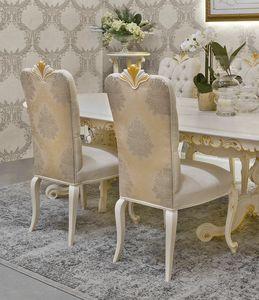 Diamante Art. 2623, Chaise avec sculptures décoratives