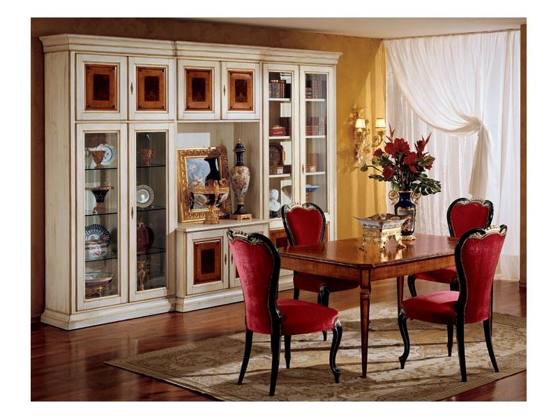 Display chair 850, Chaise de style classique pour salle à manger