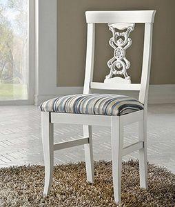 Exclusive chaise, Chaise laquée, dans un style classique