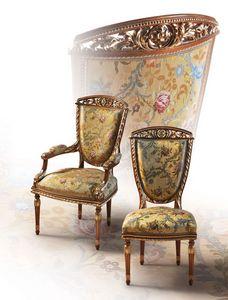 F104/A, Président dans le style de luxe classique pour Dining Room