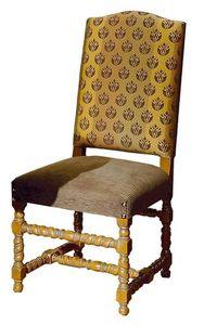 Gallicano ME.0982, '600 chaise italienne, rembourrés, pour les hôtels et restaurants