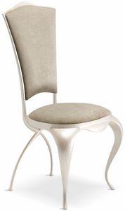 Ghirigori chaise rembourrée, Elégante chaise rembourrée