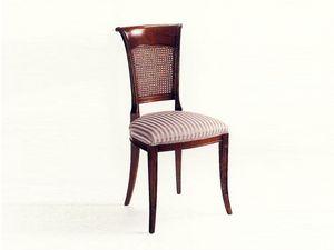 Gray, Chaise de style classique pour salle à manger