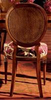 Hepplewhite chair 760, Salle chaise avec siège rembourré