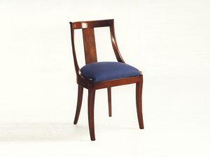 Marlowe, Chaise classique en bois pour salle à manger