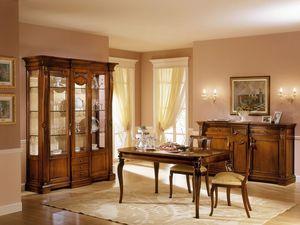 REGINA NOCE / Chair, Chaise avec siège rembourré pour salle à manger