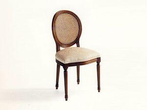 Sheridan, Chaise classique rembourré, Vienne paille de retour