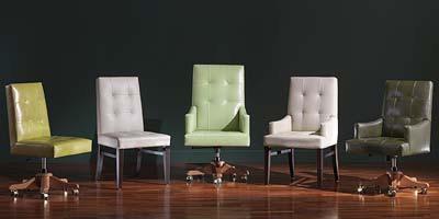 Star Chair, Chaise multi-usages, en cuir, avec polissage personnalisable