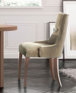Touche, Chaise classique de luxe, matelassé, pour Appareil Photo Hôtel