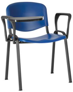 Conferenza polypropylène, Chaise pour grande salle, encombrante, avec siège en polypropylène