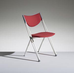 CONPASSO 1, Chaise empilable et transportable avec chariot