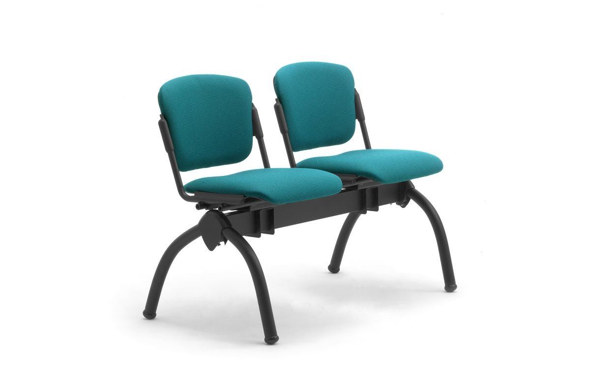 Cortina mixed bench, Banc avec sièges inclinables rembourrés, pour universités