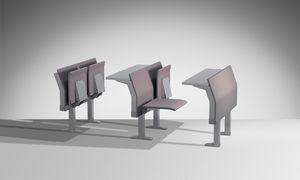 E4000, Système intégré de siège et de tables