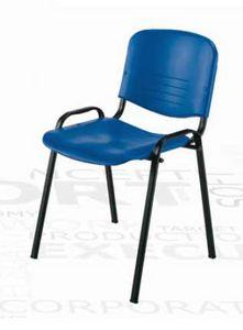 Iso, Chaise empilable pour salles multifonctionnelles