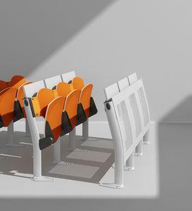 OMNIA, Programme multi- fonctionnel de sièges et d'écriture sommets, faible encombrement, pour les salles de conférence et des salles de conférence