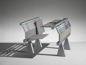 RUNNER, Système de sièges et de tables pour les universités et les écoles polytechniques