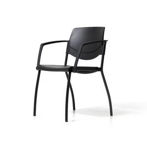 Sunny New, Chaise empilable pour salles de conférence