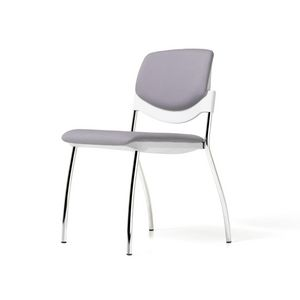 Sunny New rembourré, Chaise rembourrée équipable avec tablette