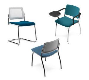 TEOREMA, Chaise empilable, pour collectivité