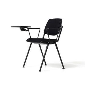Bonn siège tapissé, Chaise moderne avec tablette pour auditorium