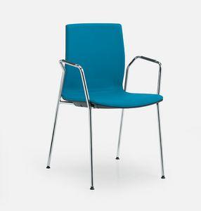 Q3, Chaise rembourrée pour les salles de conférence