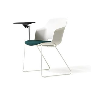 Clop tablet, Chaise avec tablette pour salles de réunion