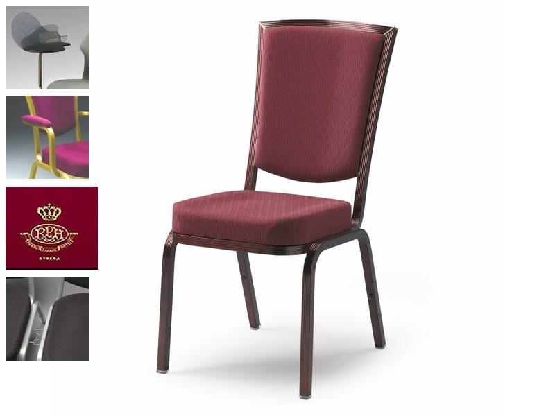 Como 65/2, Chaise Fireproof pour les conférences et réunions, personnalisables