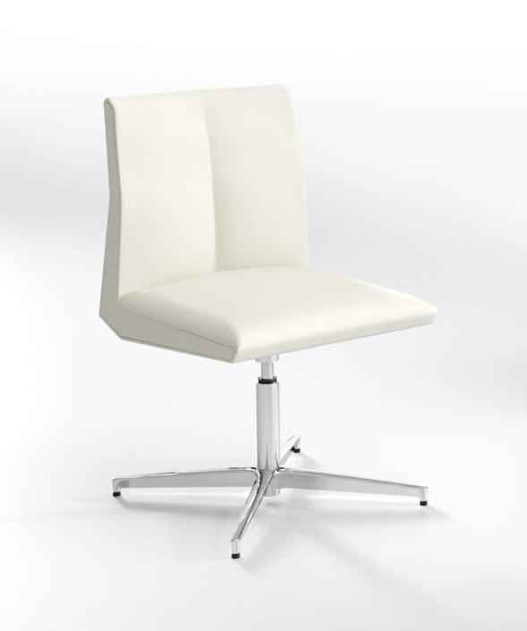 Impero B, Chaise pivotante pour salle de réunion