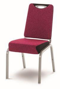 Inicio 09/1H, Chaise empilable, pour des banquets, réunions et conférences