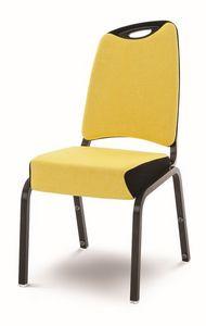Inicio 09/2H, Chaise Llightweight, r�sistant au feu, avec poign�e, empilable
