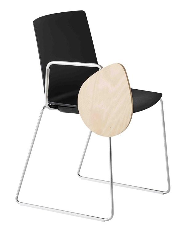 Jubel SST, Chaise avec table anti-panique