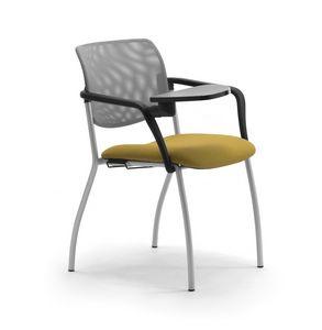 Laila 4G, Chaise avec accoudoirs et tablette