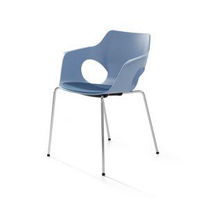 Manta, Chaise empilable pour les salles de formation, de réunion et d'événement