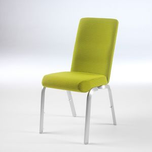 Orvia 12/3, Chaise avec assise anatomique, empilable, pour les salles de réunion