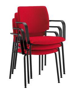 Q44, Chaises empilables pour les salles de conférence