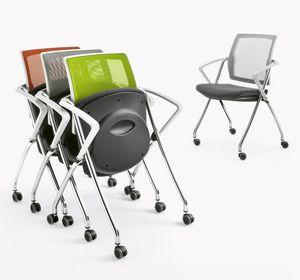 Q-Go XL RETE, Chaise empilable horizontalement ou verticalement
