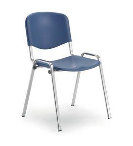 UF 103, Chaise d'auditorium avec assise en polyporpylène