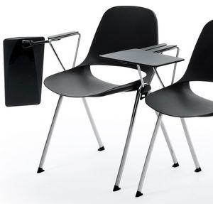 Meeting - RIB, Chaise de conférence avec tablette d'écriture